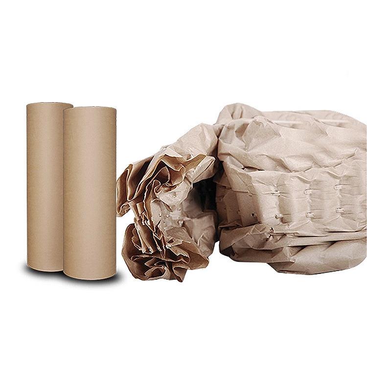 Горячая продажа новый экологичный упаковочный материал крафт-бумага рулон подушки