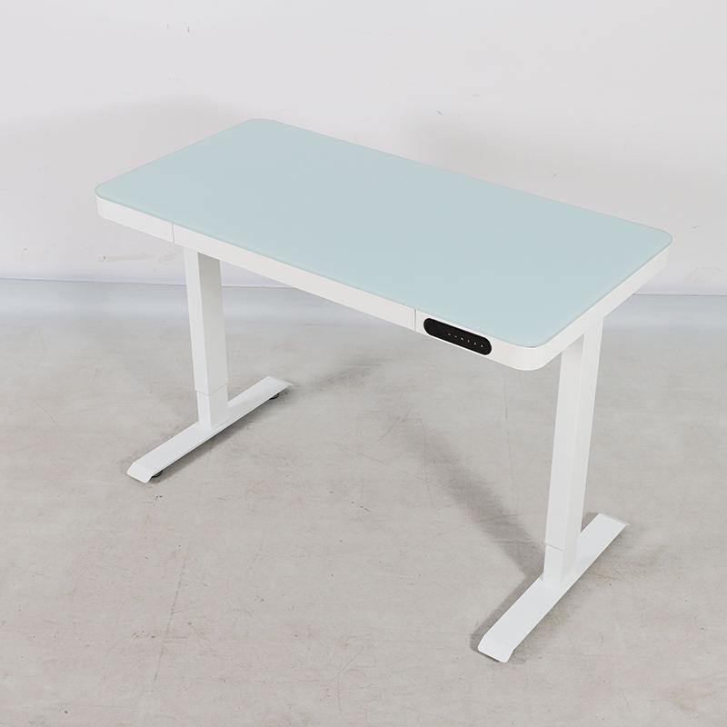 Nate-soporte para mesa de <span class=keywords><strong>oficina</strong></span> y hogar, lámpara redonda de escritorio de cristal con puerto USB, masaje, gravedad <span class=keywords><strong>cero</strong></span>