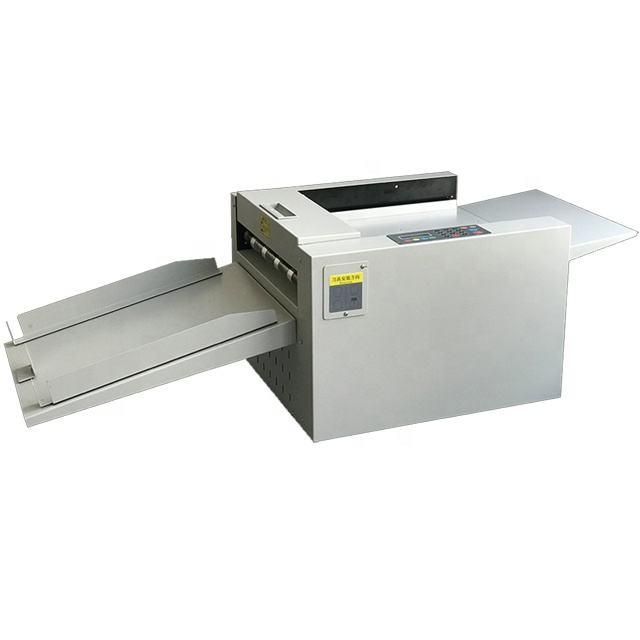 A3 digital electric paper creasing machine desktop automatic creaser and perforating machine