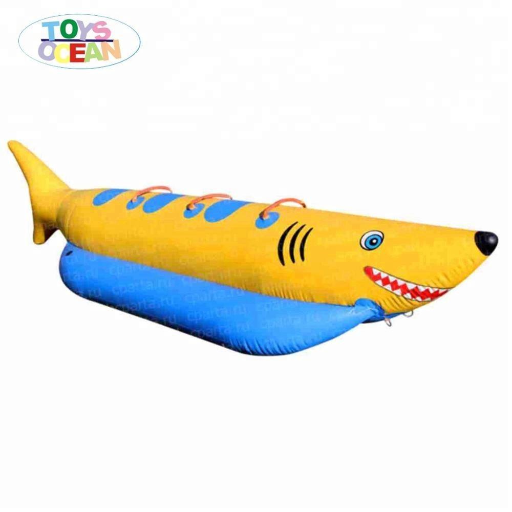 Мини 4 мест Летающая Рыбалка банан лодка <span class=keywords><strong>надувные</strong></span> для продажи