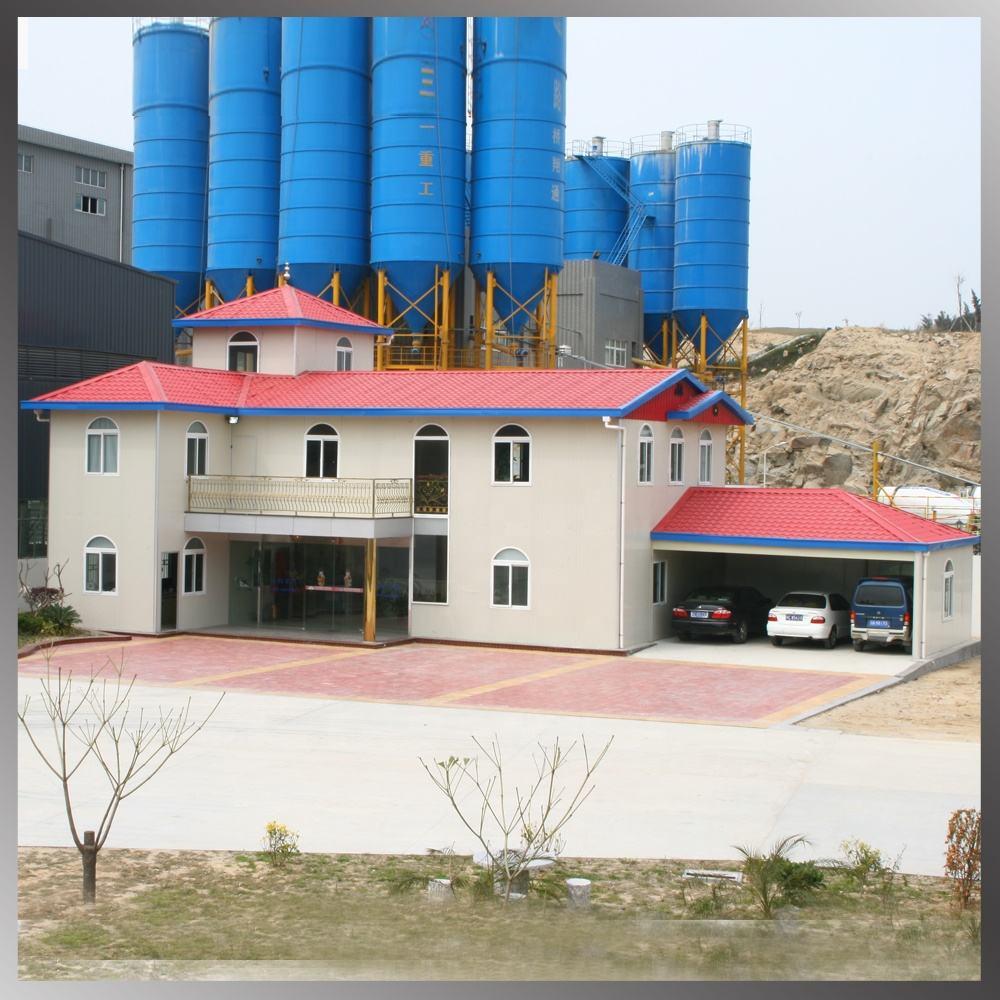 China de fábrica de construcción de estructura de acero ligero caliente edificio de lujo Villa prefabricada