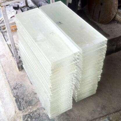 ييوو year scrystal مصقول شفاف كريستال طبق من الزجاج مواد خشب رقائقي بسمك 12 مللي متر 15 مللي متر