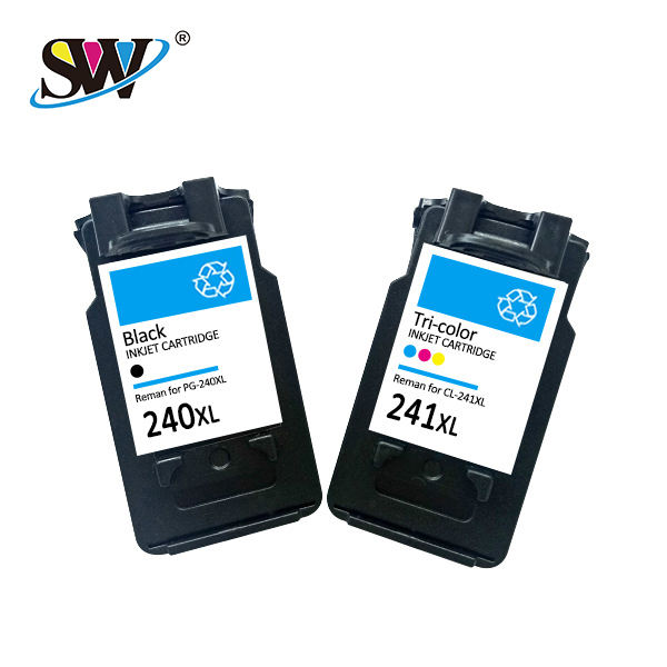 Senwill factory recycled wholesale refillable solvent inkjet cartridge 240 241 premium quality for HP printers cartridge ink