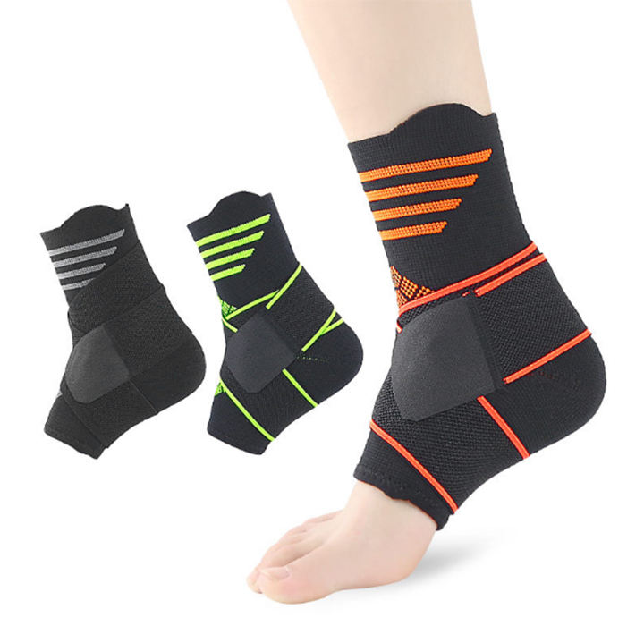 2019 Hot Sale Ankle Brace, Melenlt Breathable Ankle Support, Ankle support brace strap for Sports Protect
