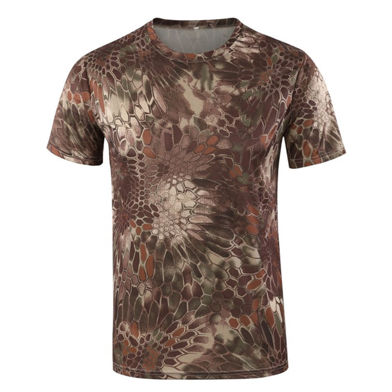 ESDY camouflage t-shirt camouflage jassen man camouflage patroon stof