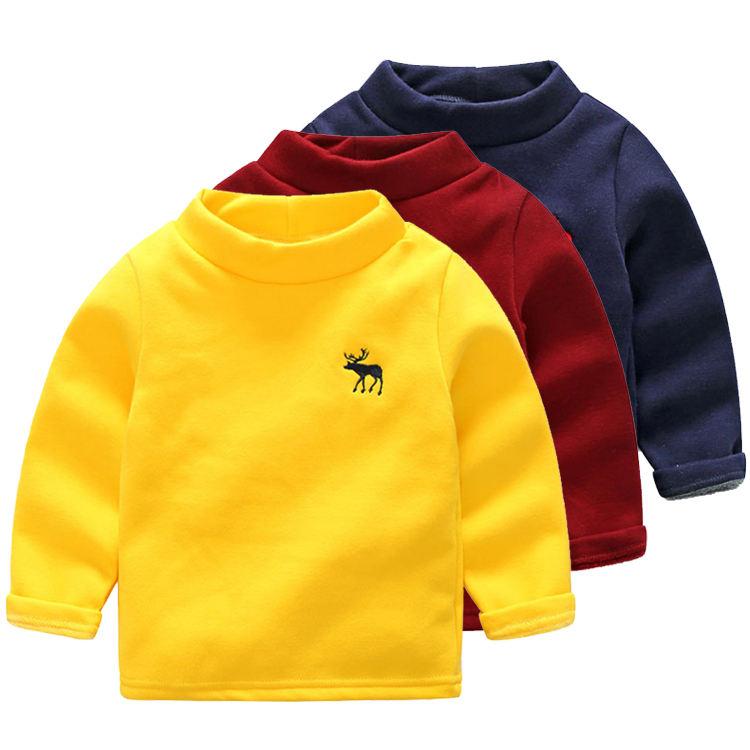 с вышитым цветочным принтом, с завязками, с капюшоном, с высоким воротником, Детский свитер