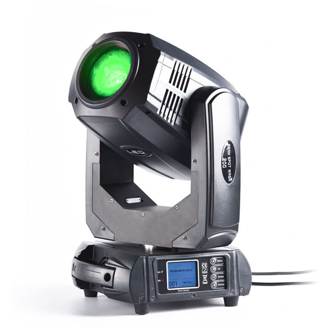 200W Led Moving Head Beam Stage lighting professional Lamp Grow light Led Party Dj Disco Light for Bar Ballroom Party