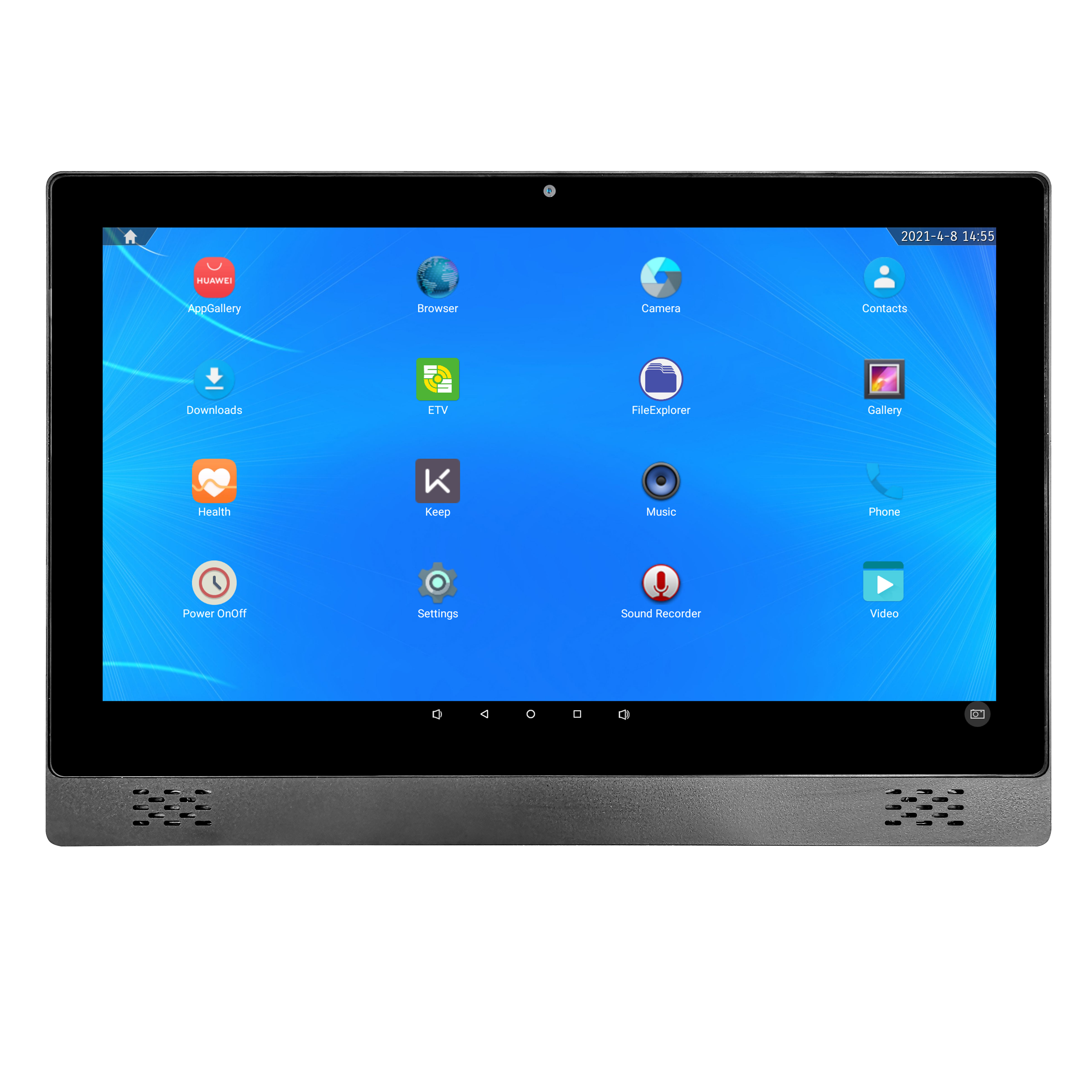 Slim 21.5 Inch Tablette Android Desktop Computer PCAP Touch Screen Tablet All In One PC