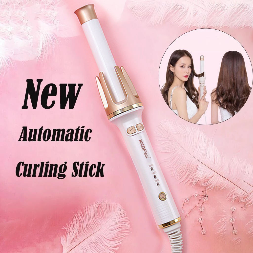Professional Hair Waver Styling Tools Electric Ceramic Roller Curls Automatic Curling Iron Hair Curler//