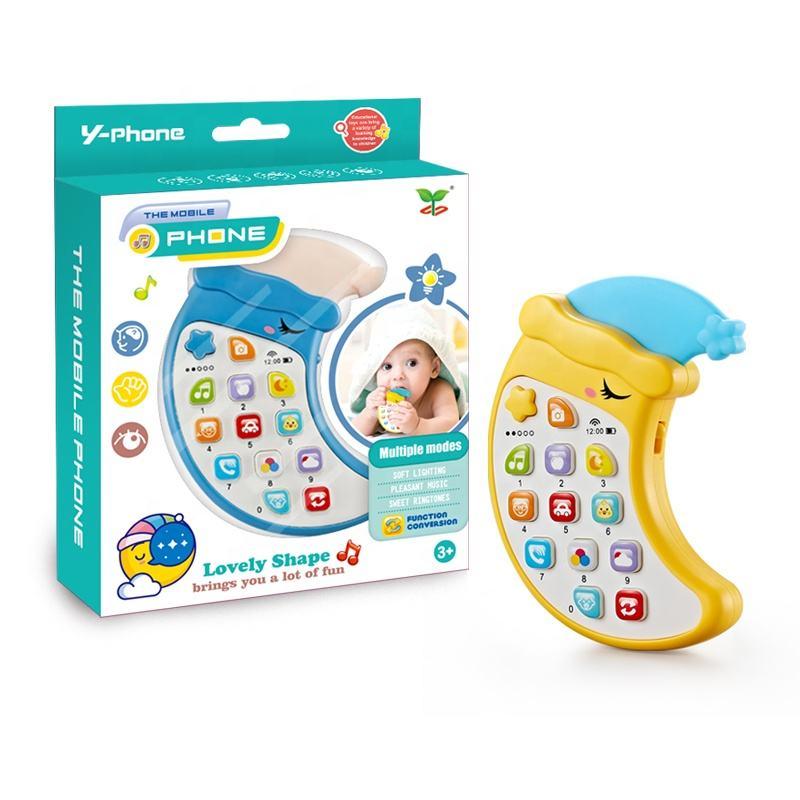Ранний развивающий смартфон, Съемный Детский прорезыватель, несколько режимов, мультяшный <span class=keywords><strong>мобильный</strong></span> <span class=keywords><strong>телефон</strong></span>, игрушка для детей