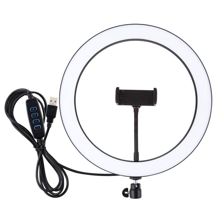 شعبية بولوز 11.8 بوصة 30 سنتيمتر USB 3 طرق عكس الضوء LED حلقة تسجيل الفيديو Selfie التصوير الفيديو أضواء