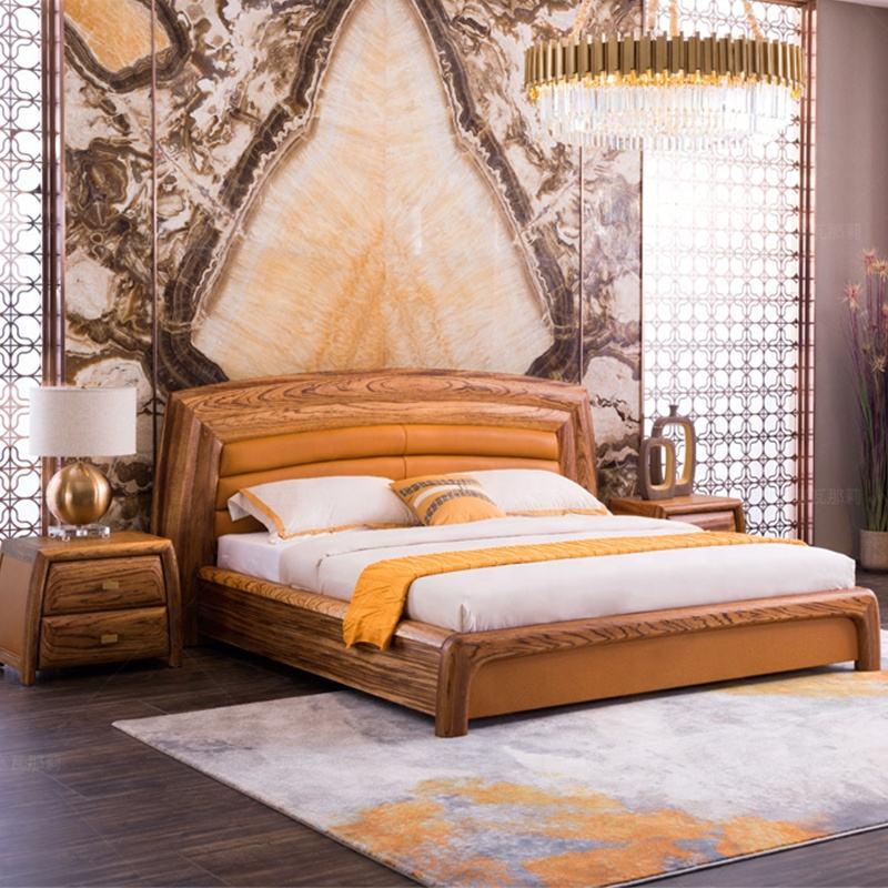 핫 세일 스칸디나비아 현대 홈 디자인 침실 가구 중국 슈퍼 나무 프레임 킹 사이즈 침대 매트리스