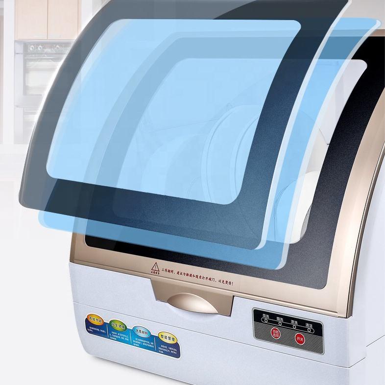 Limpiador Mini Rack comercial de la máquina portátil de terminar las vainas casa tabletas Hotel lavavajillas pequeño