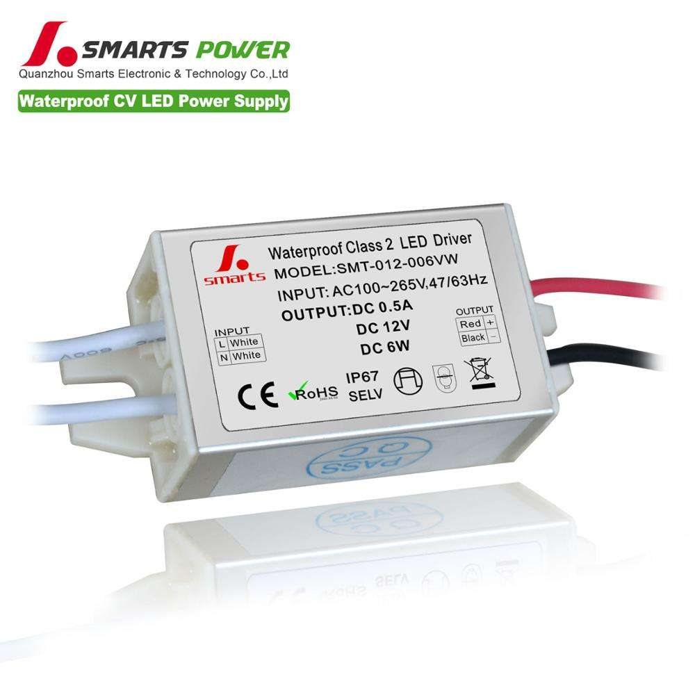 Led Рождественская елка свет трансформатор мини 5 Вт 6 Вт LED Driver 3x1 Вт светодиодный драйвер