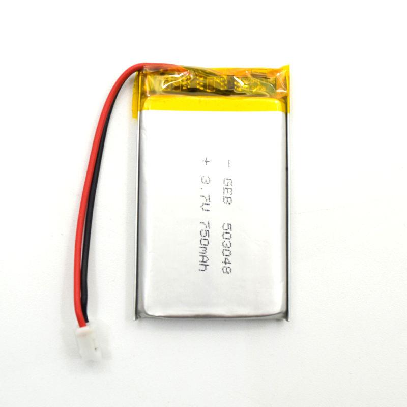Lithium có thể sạc lại <span class=keywords><strong>pin</strong></span> polymer 503048 3.7 v 750 mah li-ion <span class=keywords><strong>pin</strong></span> cho các thiết bị thông minh