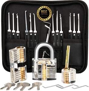 Padlock Repair Tool Set Unlocking Tool Door Opener Strong Lock Pick Repair Kit B