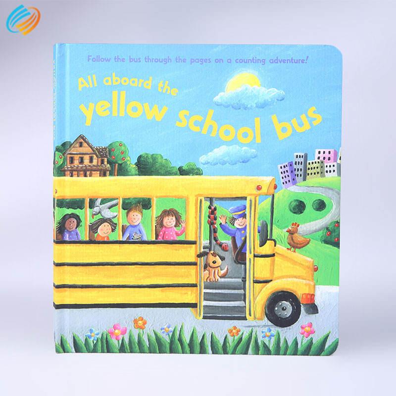 Papel Duro macio atividade de volta as crianças inglês história ou livros de ilustração do serviço de impressão offset
