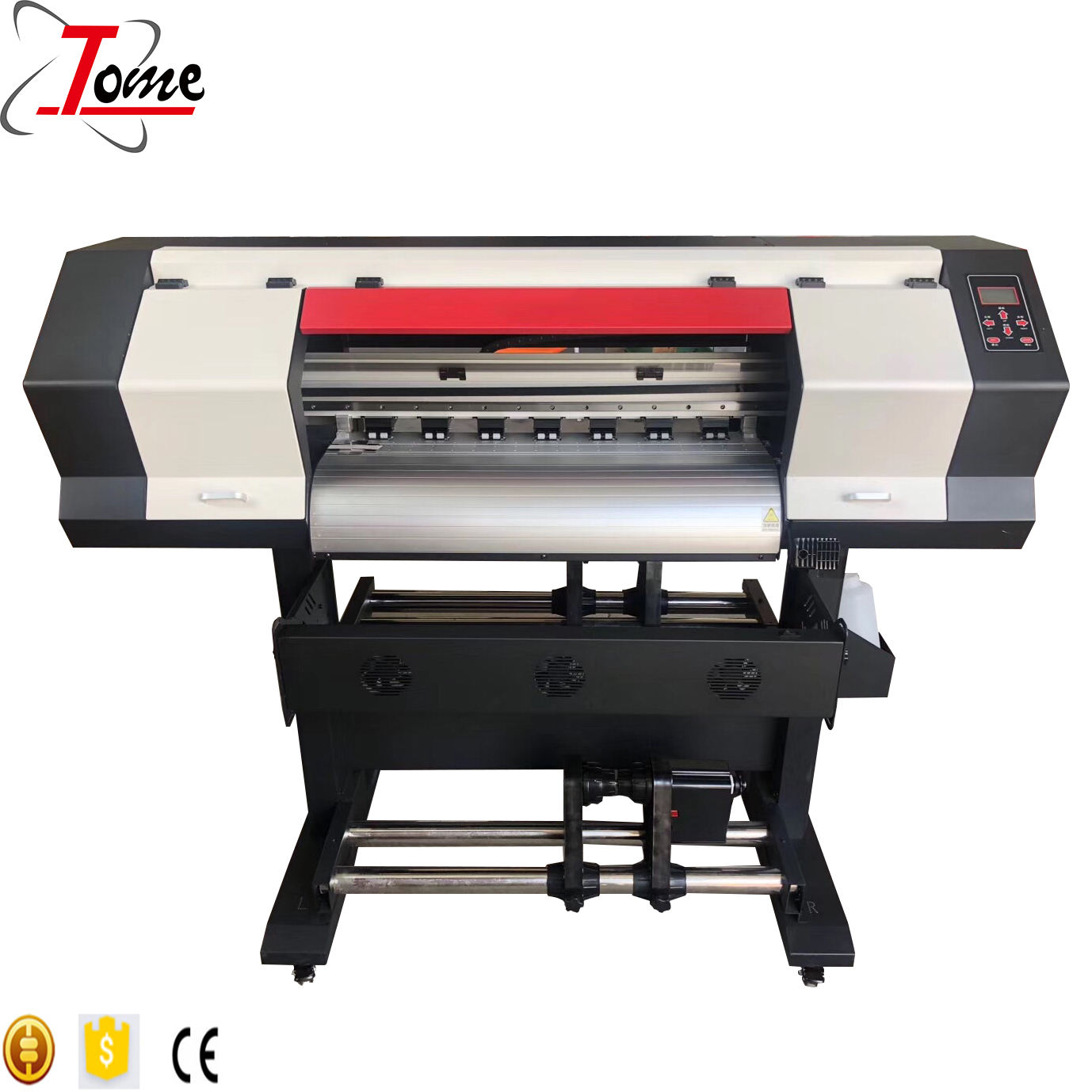 70cm xp600 dx11 dx6 head eco solvent plotter printing and cutting machine