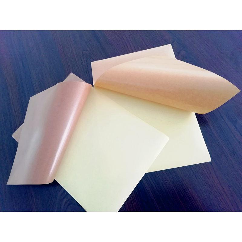80gsm коричневый самоклеящийся защитный крафт-бумага этикетка