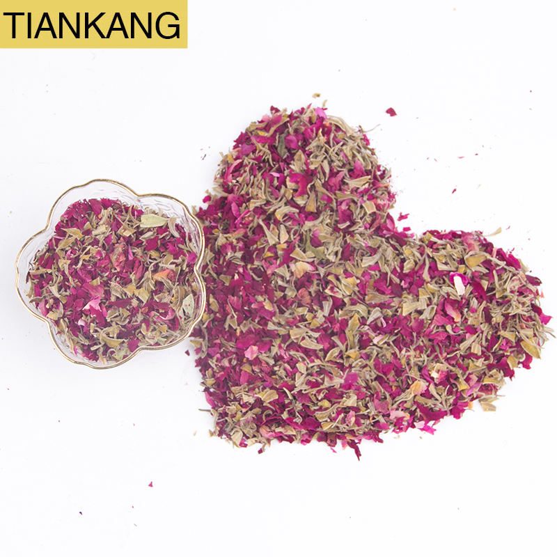 Soap Making material Dried rose petal powder raw material for Candle Making