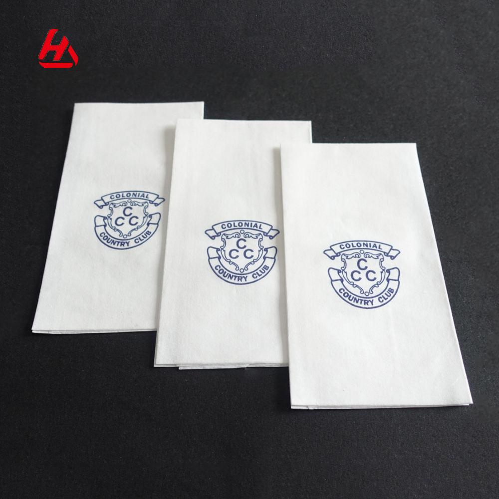 Offre Spéciale <span class=keywords><strong>Airlaid</strong></span> Serviette En Papier Imprimé Personnalisé Serviettes de Table Tissu