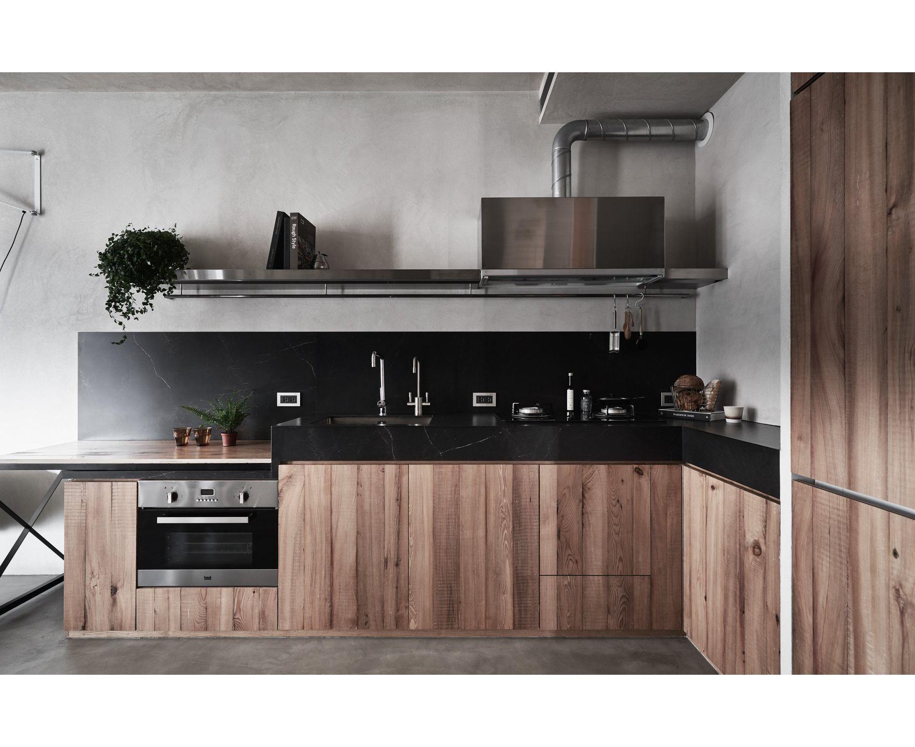 Veener madeira de luxo real de alta qualidade de madeira armário de cozinha personalizado