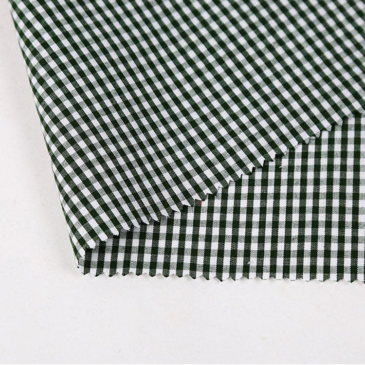Hot Selling Printing Twill Manufacture Woven Cotton Plaid Print Printed Fabric Thin Cotton