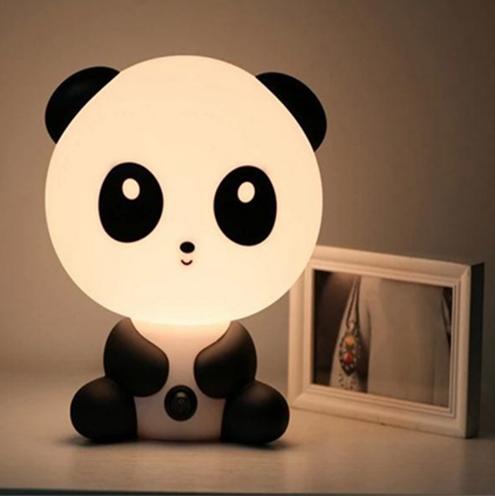 메트 vintage Desk times square) 밤 빛 Baby 방 Panda/Rabbit/개/곰 Cartoon 밤 빛 Kids 침대 Lamp 자 밤 램프 표 Lamp 와 전구