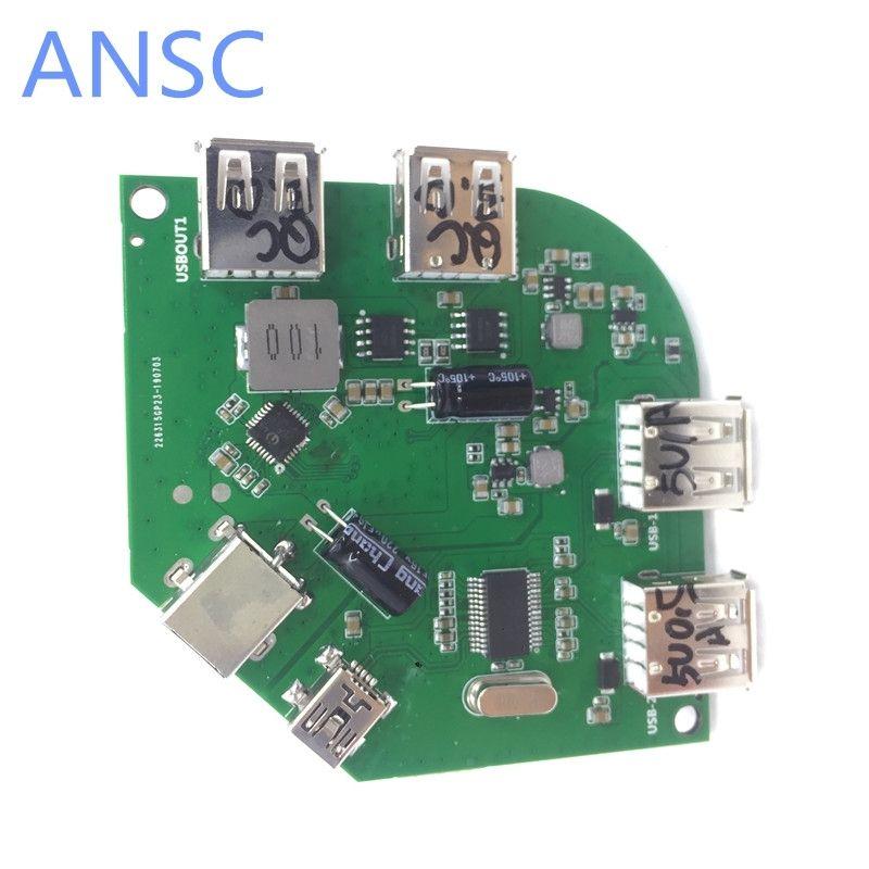 5 в 1 TX модуль QC3.0 беспроводной зарядки Быстрый модуль QI Стандартный несколько зарядки порт беспроводной передатчик Модуль
