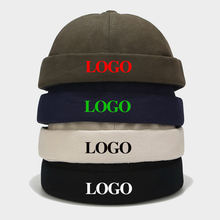 wholesale adjustable fashion hot sell  baseball round brimless cap without brim