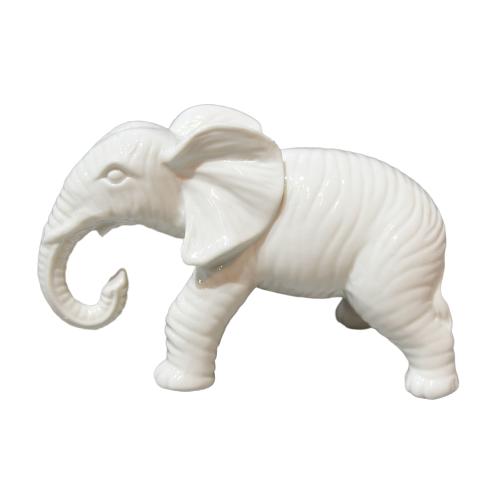 Современный Дизайн Высокое качество креативный белый слон керамическое украшение для дома для оптовой продажи