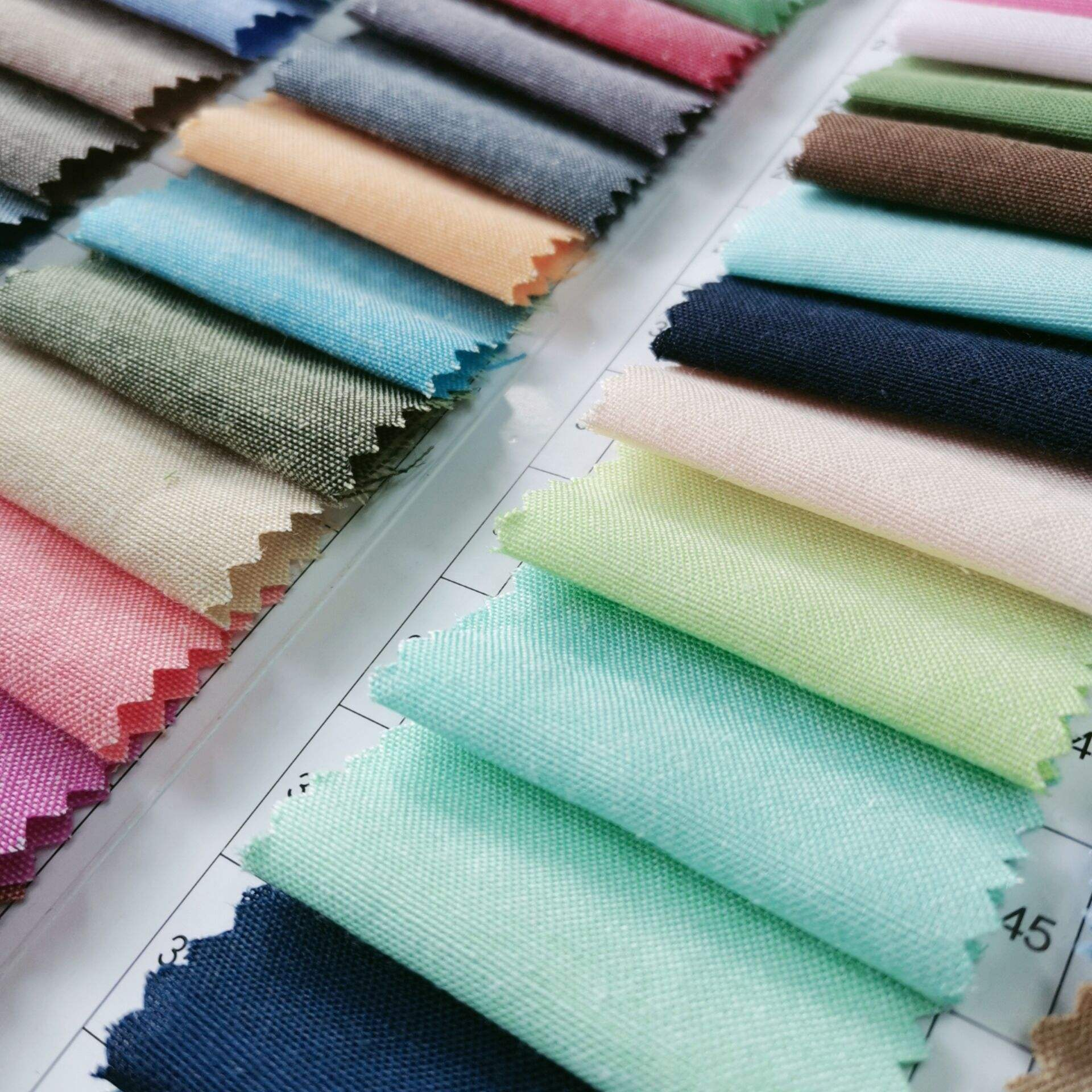 poly cotton yarn dyed Oxford shirting fabric for men and women formal shirts