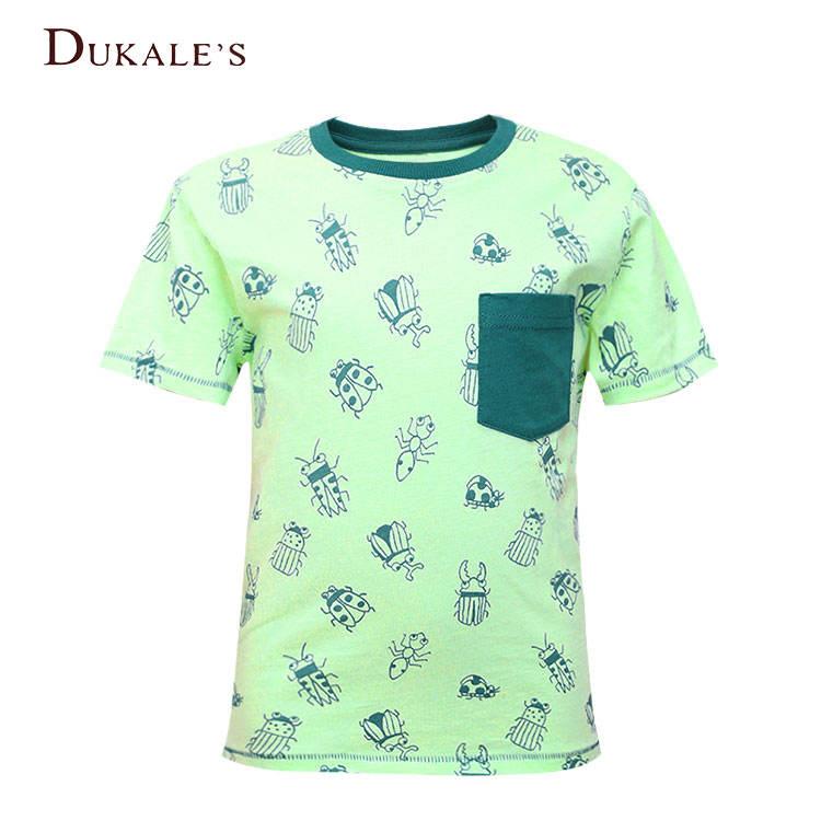 Детская футболка с короткими рукавами для мальчиков футболка с милым рисунком для детей