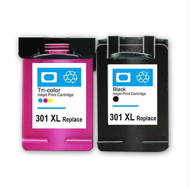 301 cartuchos de tinta Venta caliente chip reset Compatible recarga cartucho de tinta de impresora 301 301XL para <span class=keywords><strong>HP</strong></span>