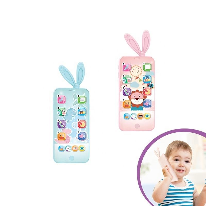 Aprendizaje Temprano juguetes de dibujos animados musical inteligente de pantalla táctil del teléfono <span class=keywords><strong>móvil</strong></span> <span class=keywords><strong>juguete</strong></span> para el bebé