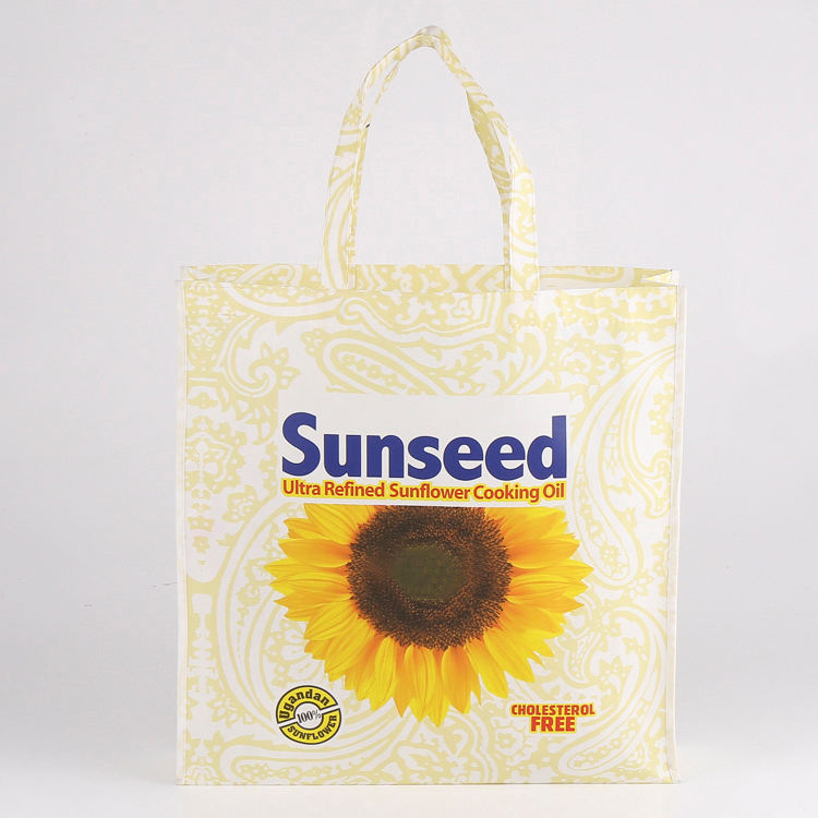 Barato reutilizable plegable tela no tejida bolsa con buen precio