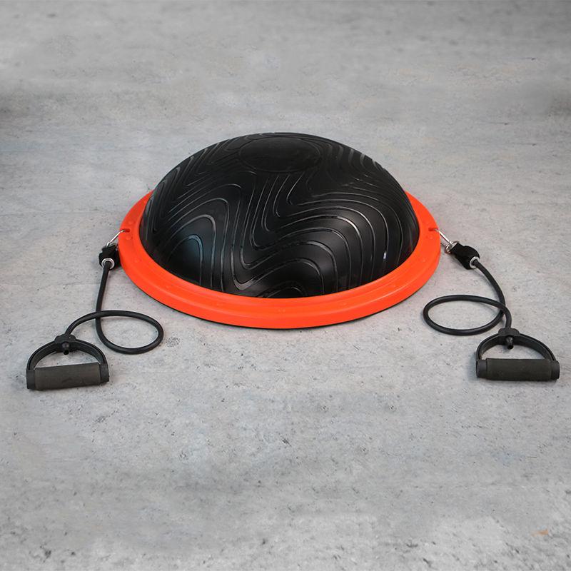 PVC D&#39;équilibre De Yoga Formateur Balle Balle D&#39;équilibre avec <span class=keywords><strong>Bandes</strong></span> de Résistance
