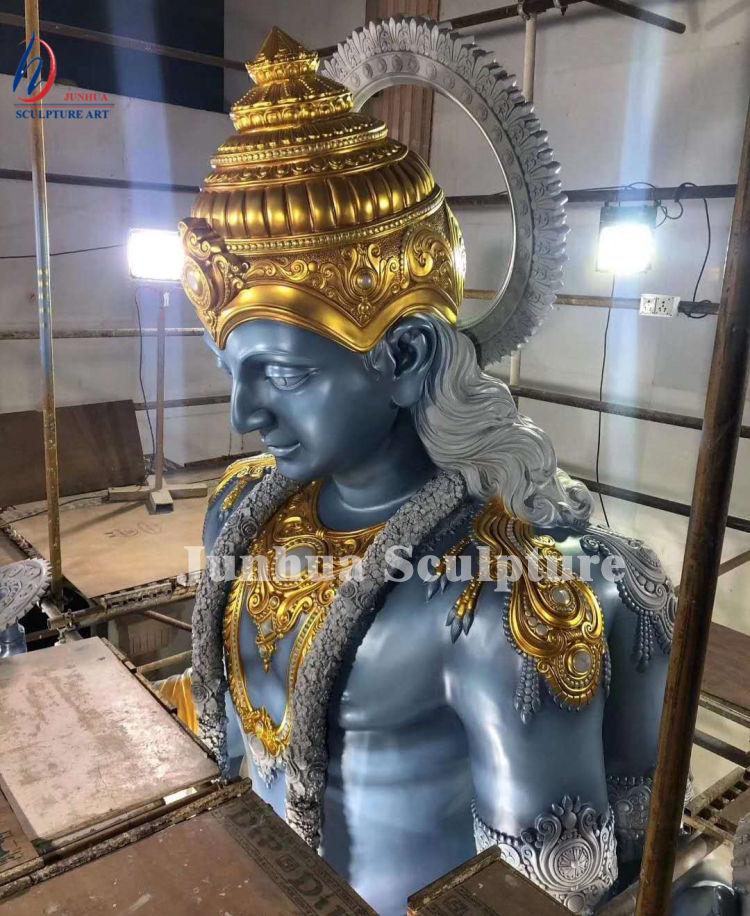 Открытый Большой размер Бронзовая статуя лорда Шивы индийского Будды для продажи