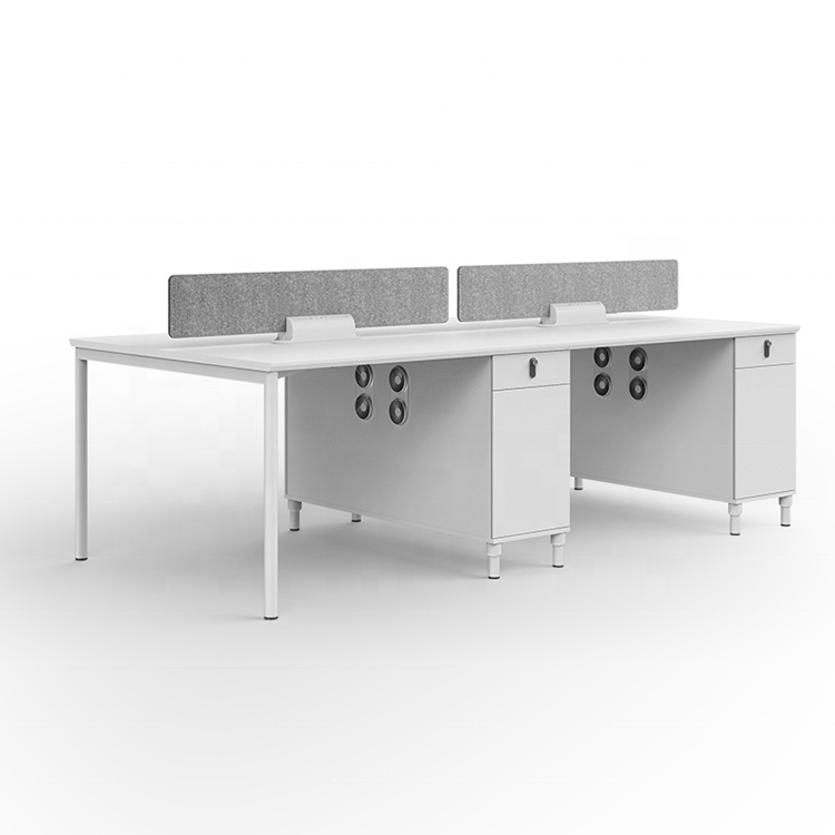 High quality new design office furniture 4 person workstation modern office desk