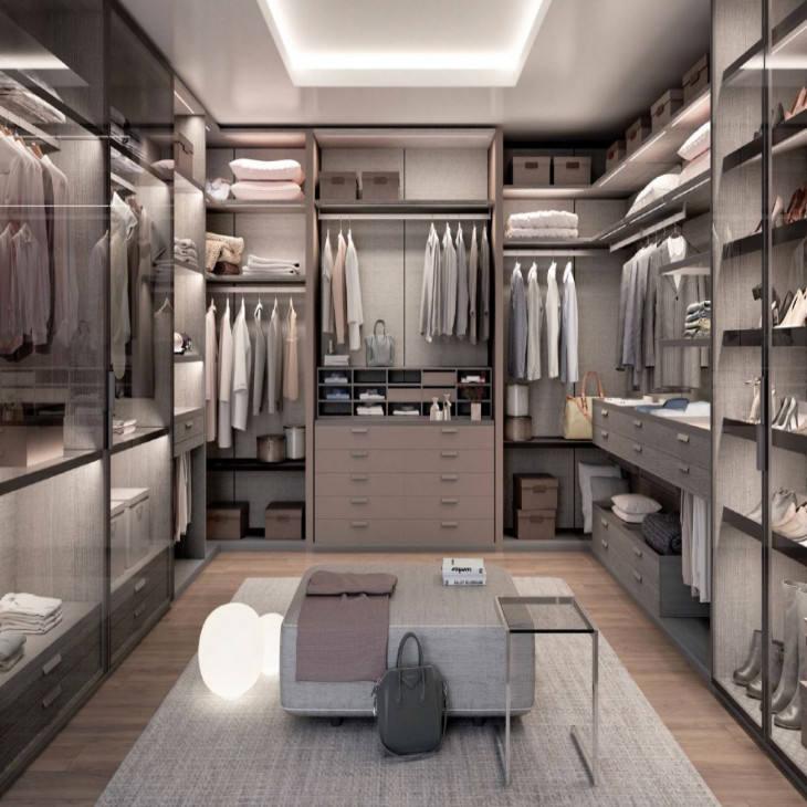 Ханчжоу N & L Роскошная прогулка в деревянных модульных шкафах шкаф спальни с шкафом изготовляет сразу