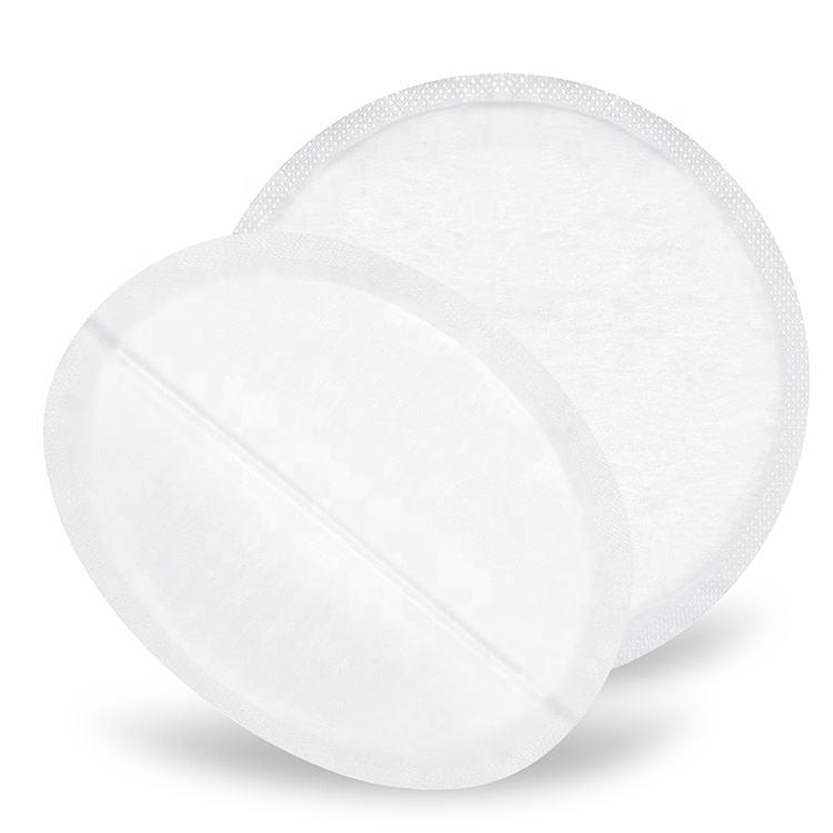 新デザインスーパーソフト綿生地不織布母授乳使い捨て乳房看護パッド