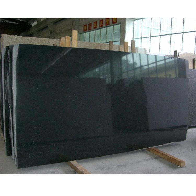 최고급 세련된 중국어 산서 블랙 화강암 3 CM 두꺼운 큰 석판 판매
