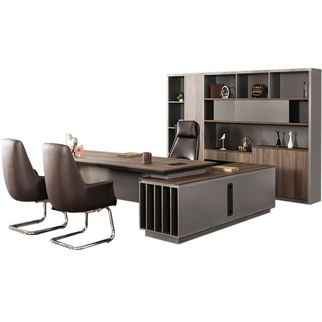 High End luxury office furniture executive muebles oficina boss office table