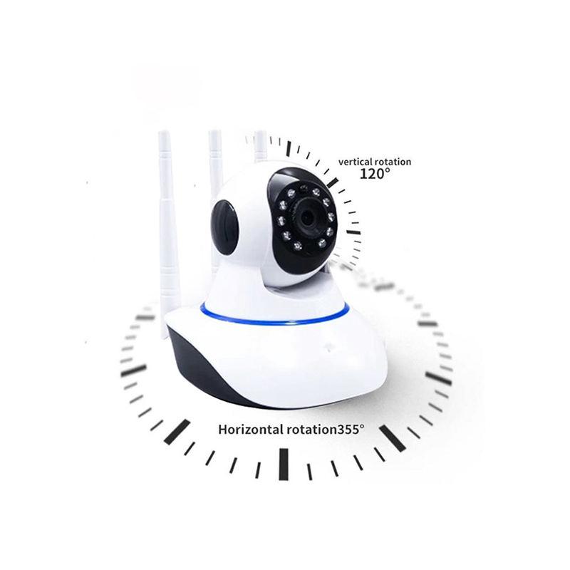 2020 トレンド HD ビデオ再生 WiFi CCTV Camera1080P ワイヤレス 3 アンテナ SD カード/クラウドストレージスマートカメラモーション検出警報