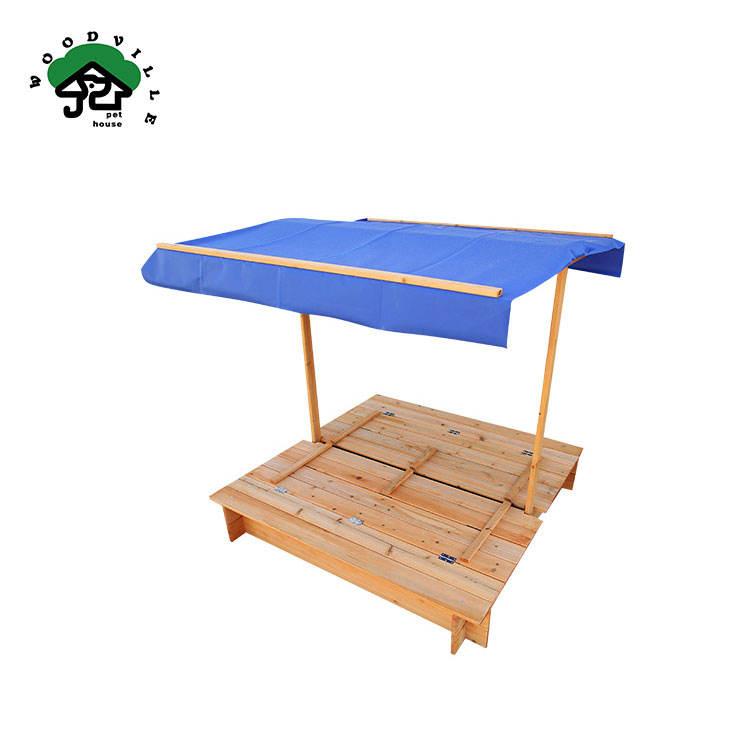 Экологическая игровая площадка Китайская ель деревянная игрушка Песочная коробка для детей
