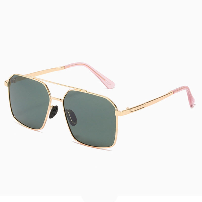 New Color Aluminum Alloy Sun Glasses Frame Night Nision High Material Polarized Men Sunglasses