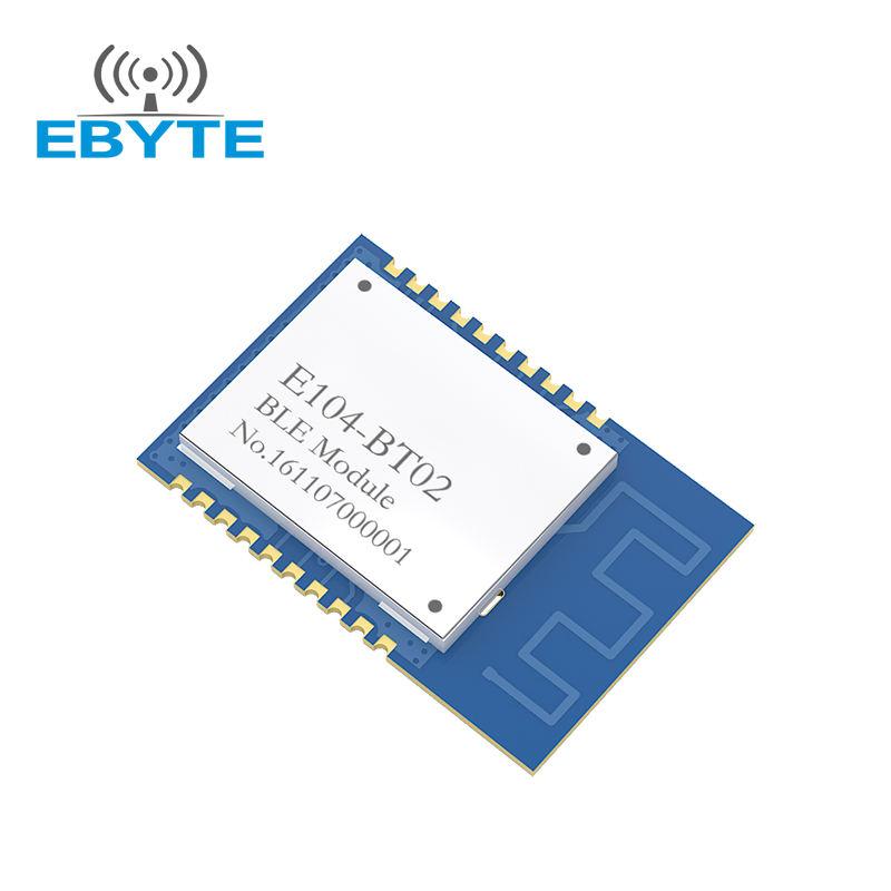 Индивидуальный размер E104-BT02 BLE 4,1 2,4 GHz da14580 bluetooth модуль