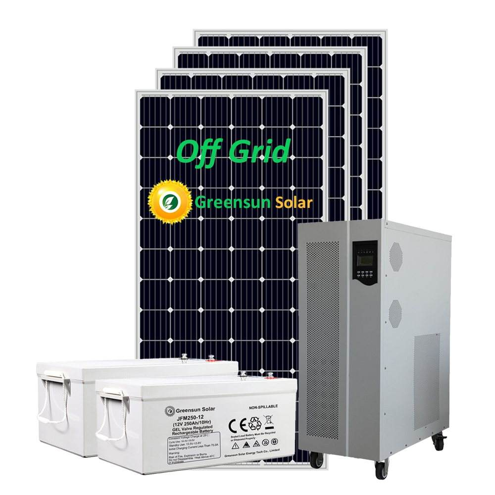 Off Grid Photovoltaic Solar PV Panels 10kw Complete Solar System Pitched Roof Installation Price