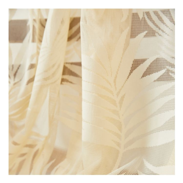 Large Capacity Linen Printing sheer outdoor curtain fabric
