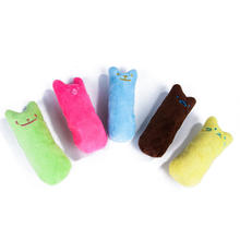 Manufacturers Spot pet supply Molar Expression Interactive Teddy Toy Pet Chew Toy Cat Mint Plush Toy